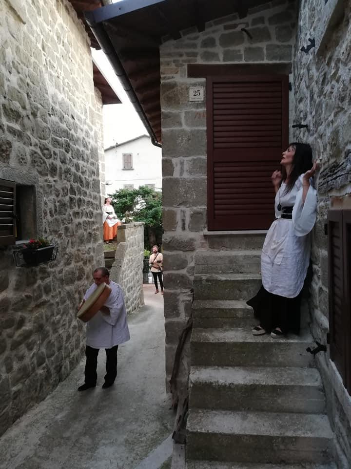 la sibilla nel borgo