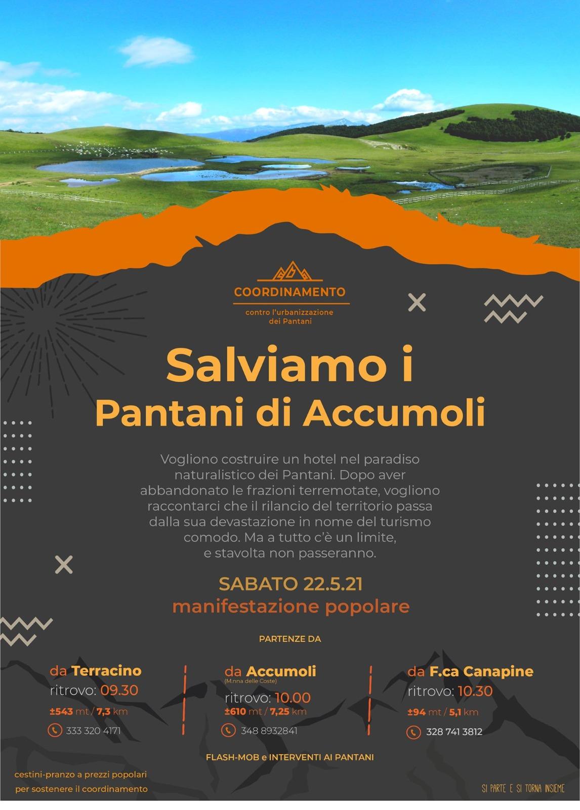 Giù le ruspe dai Pantani, un'oasi tra gli Appennini. Ecomuseo del Monte Ceresa aderisce all'iniziativa SALVIAMO I PANTANI DI ACCUMULI